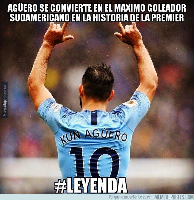 1055395 - Sergio Agüero simplemente leyenda