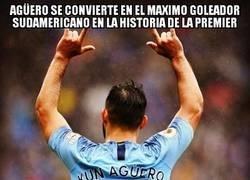 Enlace a Sergio Agüero simplemente leyenda
