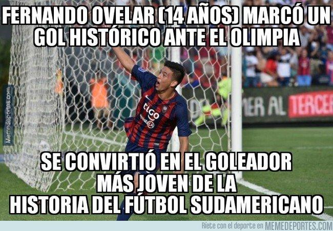 1055460 - El joven de Cerro Porteño que entró en la historia