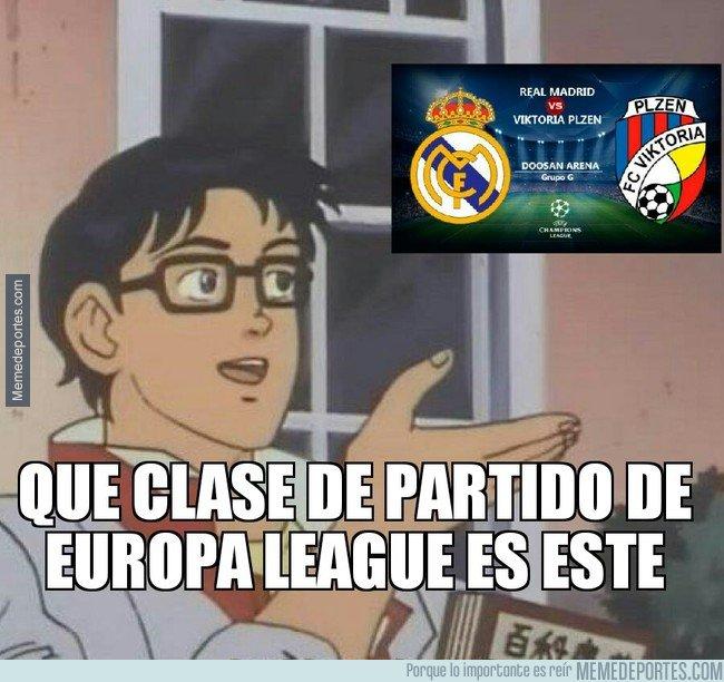 1055668 - Partido claramente de Europa League