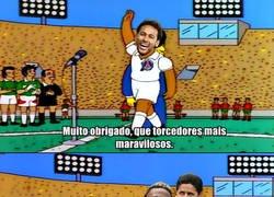Enlace a El meme más preciso que verás hoy, Neymar cobrando por saludar