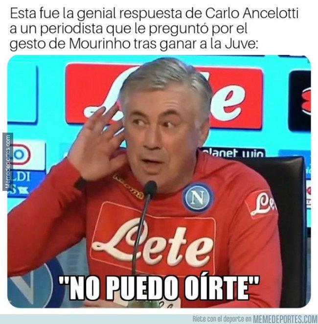 1055931 - Ancelotti, un gran regateador de polémicas