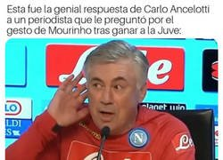 Enlace a Ancelotti, un gran regateador de polémicas