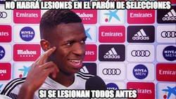Enlace a Así está el Madrid con las lesiones, por @enfueradejuego
