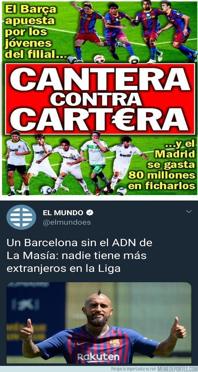 1056237 - El Barça ya no habla de la cantera ni de la cartera