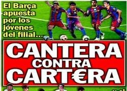 Enlace a El Barça ya no habla de la cantera ni de la cartera