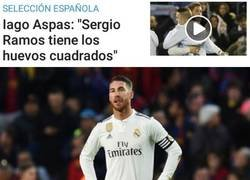 Enlace a Los cuadrados huevos de Sergio Ramos