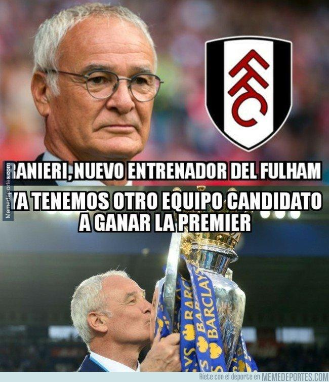 1056278 - Ranieri, nuevo entrenador del Fulham