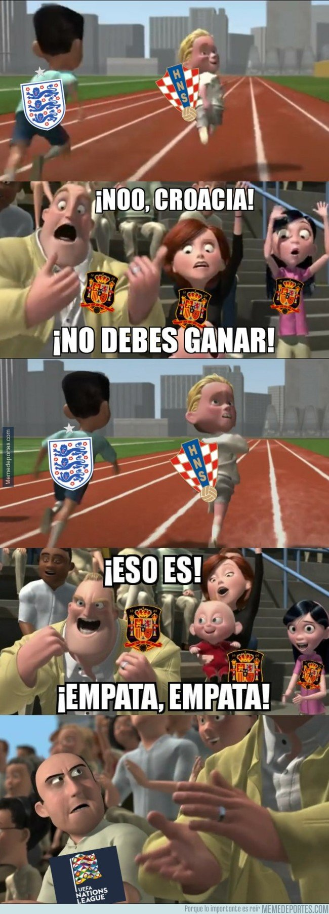 1056386 - España necesita que Inglaterra y Croacia empaten en Wembley