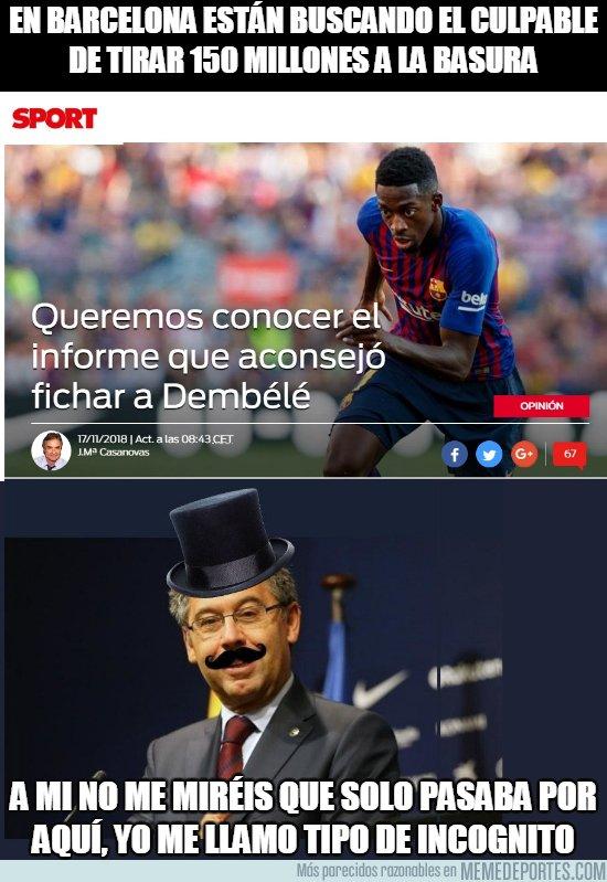 1056496 - En Barcelona se busca el culpable del caso Dembélé