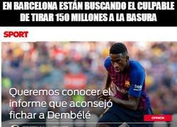 Enlace a En Barcelona se busca el culpable del caso Dembélé