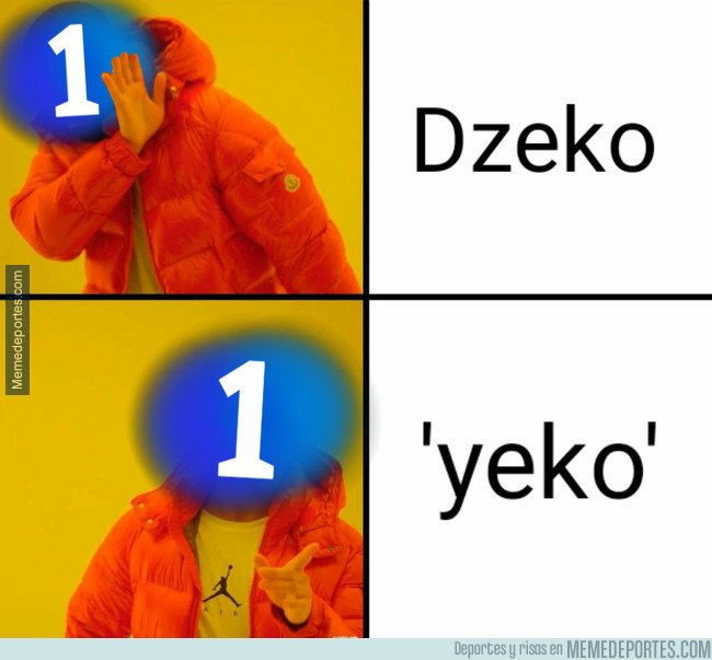 1056581 - Los comentaristas de la 1 están teniendo problemas con el nombre de Dzeko