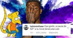 Enlace a Kimpembe se pica con un niño rata en Instagram tras la derrota de Francia y se rebaja a su nivel