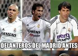 Enlace a El Madrid no ha tenido suerte con los 9 últimamente