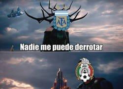Enlace a México no puede con Argentina, pero hay alguien que sí puede