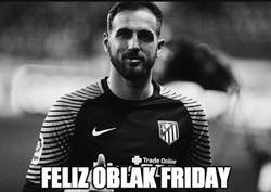 Enlace a Oblak Friday, por @Diego21Garcia
