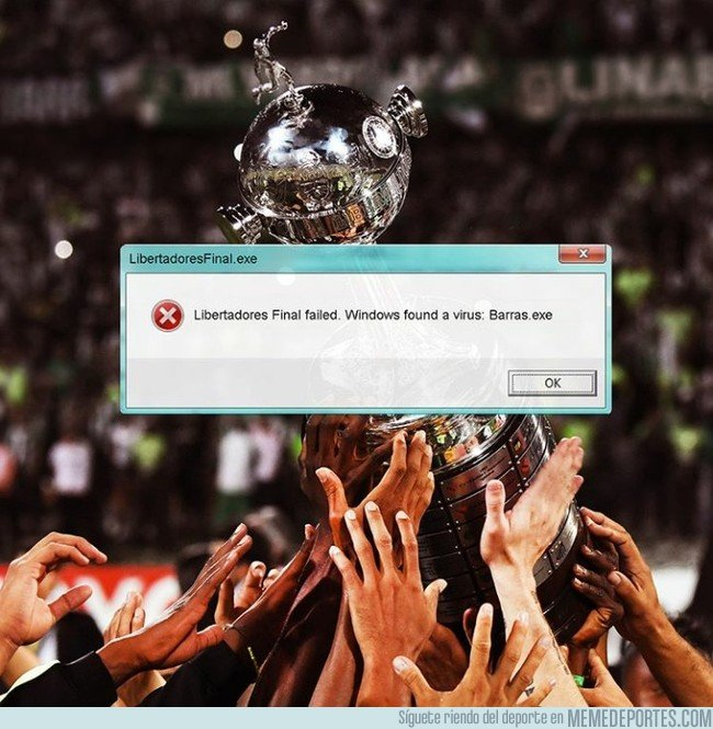 1057307 - Error 404. Libertadores not found, por @emiliosansolini