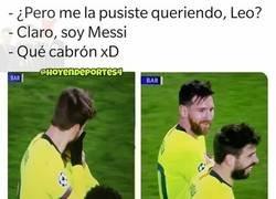 Enlace a Messi sabe lo que se hace, por @hoyendeportes4