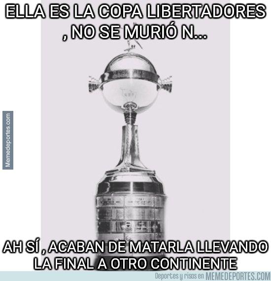 1057694 - D.E.P. Copa Libertadores