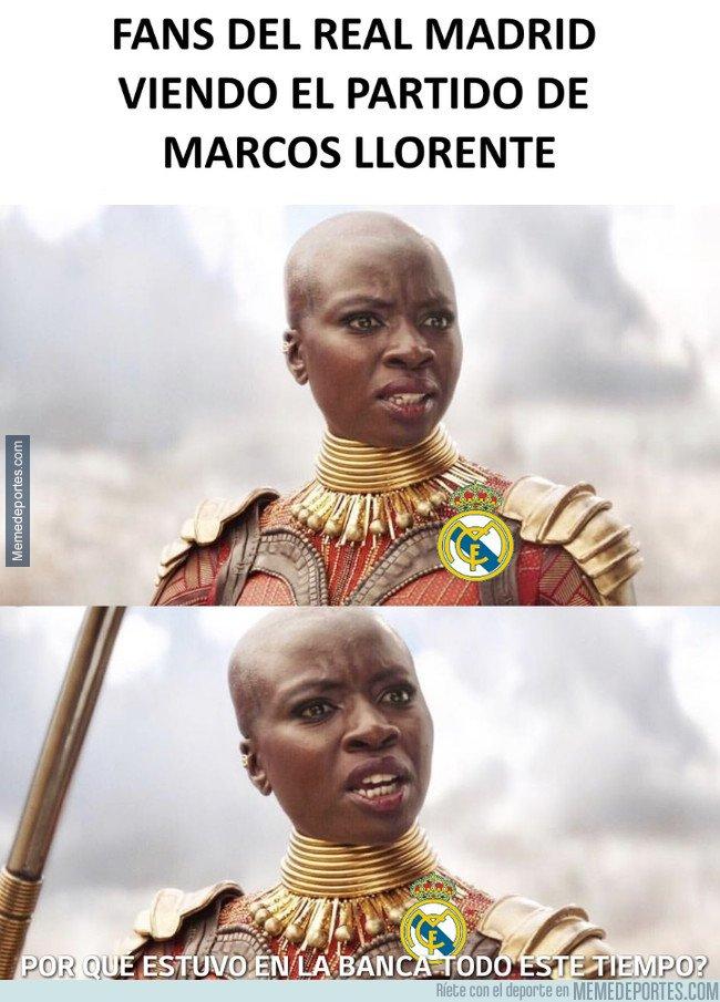 1057853 - Juega bien Marcos Llorente