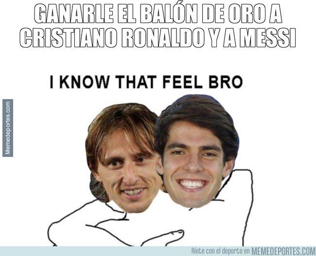 1058052 - Kaká y Modrić saben qué se siente ganarle el balón de oro a Cristiano y a Messi