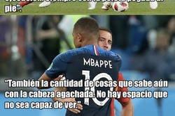 Enlace a El jugador que más ha impresionado a Mbappé este año