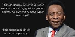 Enlace a Pelé vuelve al ataque