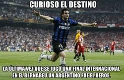 Enlace a Argentina en el Santiago Bernabéu