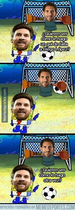 1058445 - Messi se luce contra el pobre Diego López
