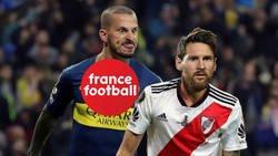 Enlace a El feo de France Football a Messi