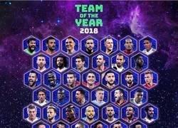 Enlace a Los 50 nominados al 11 del año de la UEFA