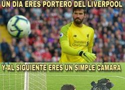 Enlace a Alisson Becker, un tipo humilde
