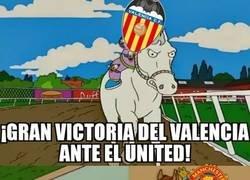Enlace a El Valencia consigue vencer antes de ir a la Europa League
