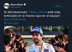 Enlace a Marca le cambia las palabras a Di Montezemolo y Fernando Alonso se ríe de ellos con una gran respuesta
