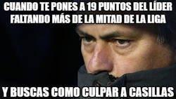 Enlace a Mourinho a punto de lanzar otra perla de Casillas para desviar la atención