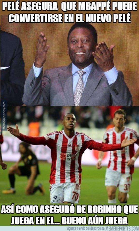 1059208 - Pelé pone en peligro la carrera de Mbappé con sus declaraciones