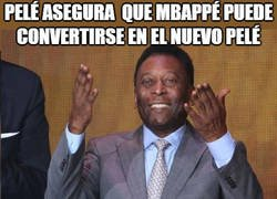 Enlace a Pelé pone en peligro la carrera de Mbappé con sus declaraciones