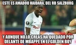 Enlace a Quizás ni lo conozcas, pero se acercó más al Golden Boy que Mbappé