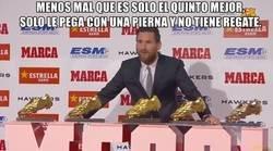 Enlace a La quinta bota de oro de Messi