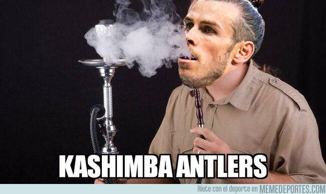 1059539 - Bale se 'fumó' al Kashima él sólo