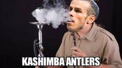 Enlace a Bale se 'fumó' al Kashima él sólo