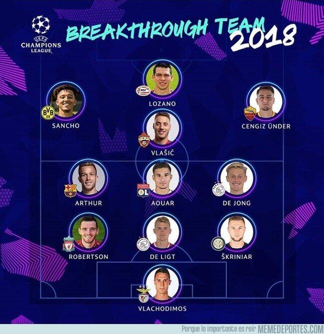 1059953 - Este es el 11 revelación de este año elegido por la UEFA