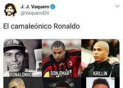 Enlace a El camaleónico Ronaldo, por @vaqueroeh