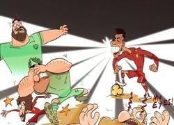 Enlace a La actuación de Firmino ante el Arsenal fue resplandeciente, por @goalglobal