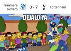 Enlace a El Tottenham se da un festín en la FA Cup