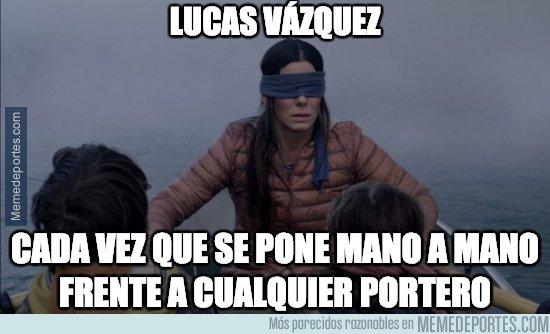 1060705 - No tiene nivel Lucas Vázquez..., por @iamjoselu