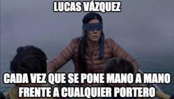 Enlace a No tiene nivel Lucas Vázquez..., por @iamjoselu