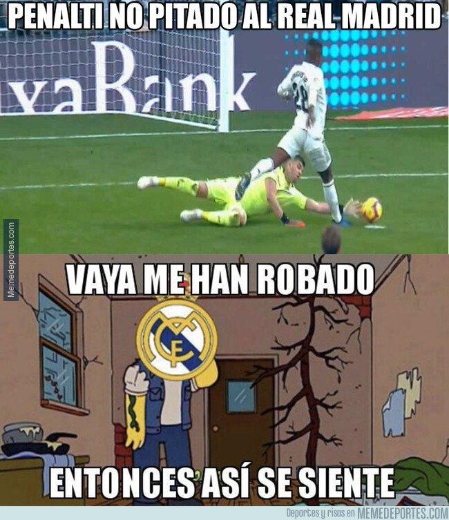 1060707 - El Real Madrid se siente robado