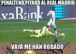 Enlace a El Real Madrid se siente robado