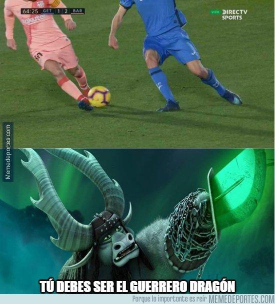 1060734 - La jugada que Jaime Mata le contará a sus nietos, cañito a Messi